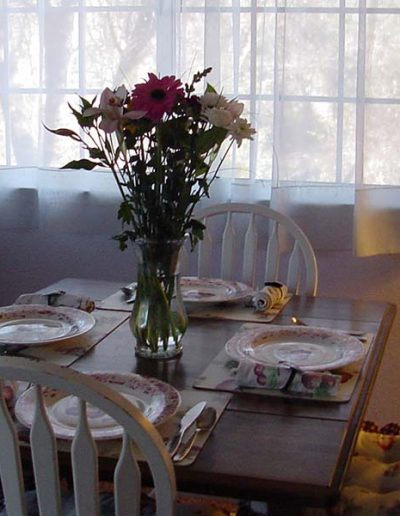 Kitchen-Dining Area   Yosemite,CA   Apple Blossom