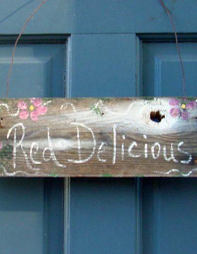 Red-Delicious Room   Yosemite,CA   Apple Blossom