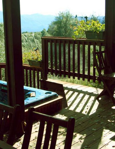 Apple Blossom Inn Deck | Yosemite,CA | Apple Blossom