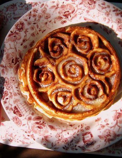 banana blossom waffle | Yosemite,CA | Apple Blossom
